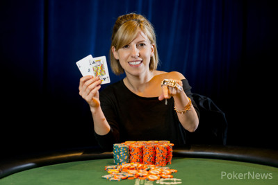 2013 WSOP Ladies Event Gold Bracelet Winner Kristen Bicknell