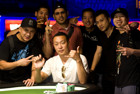 Congratulations to Steve Sung, Winner of Event #52: $25,000 No-Limit Hold'em Six Handed ($1,205,324)