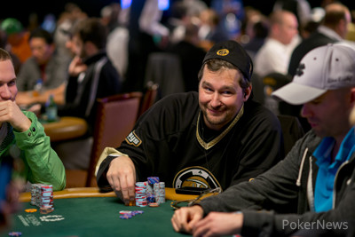 Phill Hellmuth in the Poker Players' Championship