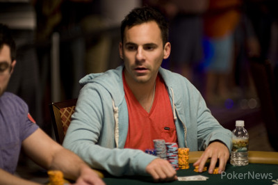 Chris Klodnicki (on his way to finishing second in the $111,111 No Limit Hold'em - One Drop High Roller (Event #47)