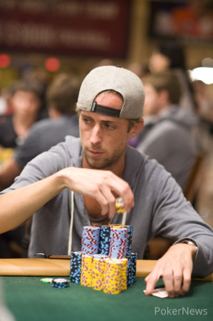 Timothy Reilly: Second in chips going into Day 2