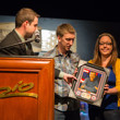Brett Shaffer's wife receives his framed photo