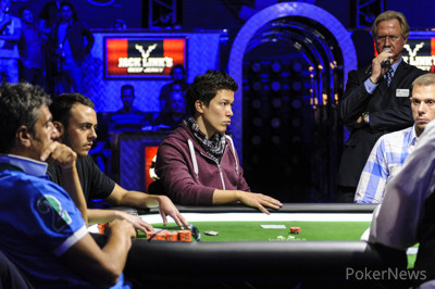 Thomas Muehloecker is all in and eliminated in 6th place