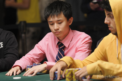 Ben Yu in and earlier WSOP event.
