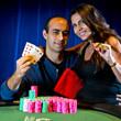 2013 WSOP Event 61 Gold Bracelet Winner Daniel Alaei & wife, Ara.
