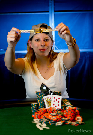 2013 WSOP Event 60 Gold Bracelet Winner Loni Harwood