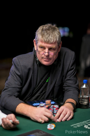 Gary Benson (Seen Here Playing in Event #55)