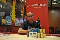 Antonino Arcuri, vince la Juego Cup