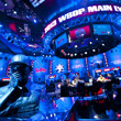Chris Moneymaker bust and ESPN TV Feature Table