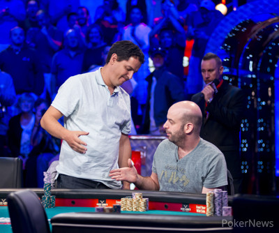 Carlos Mortensen eliminated on the November Nine bubble