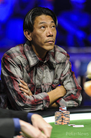 Minh Ly (Seen Here at the Final Table of Event #55) is No Stranger to WSOP Success