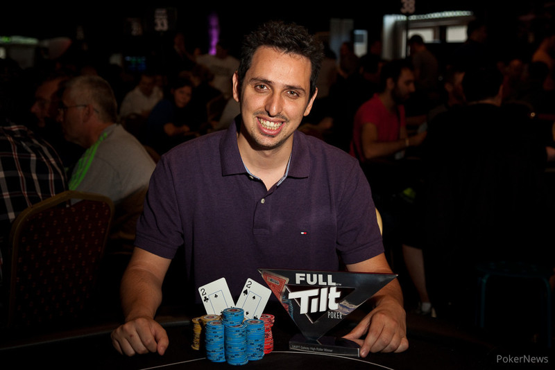 Sergio Aido - UKIPT High Roller Winner