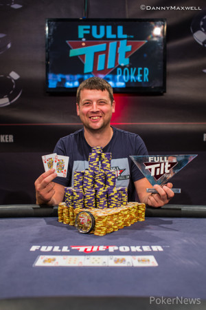 Winner of Full Tilt Poker UKIPT Galway - Alan Gold