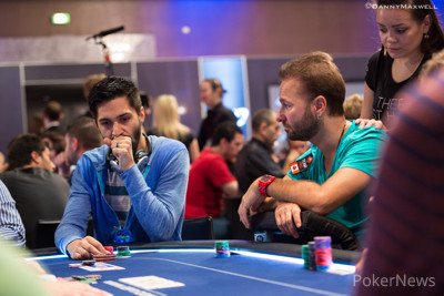 Andrew Moreno y Daniel Negreanu