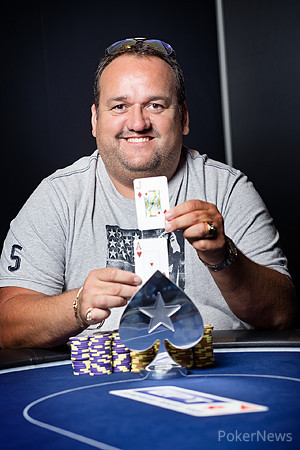 Alain Roy. Photo courtesy of the PokerStars Blog.