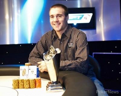 Ganador del EPT6 de Londres Aaron Gustavson