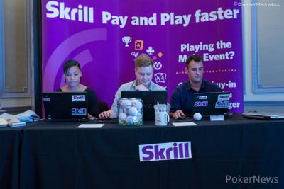 Skrill team hard at work