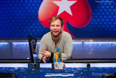Robin Ylitalo EPT London Main Event Winner