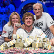 2013 WSOP Main Event Champion Ryan Riess with mom and dad