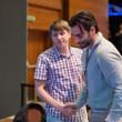 Ivan Soshnikov & Olivier Busquet shake hands
