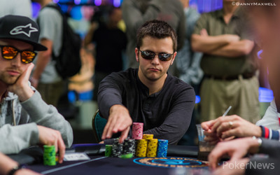 Day 1a Chip Leader Dylan Hortin