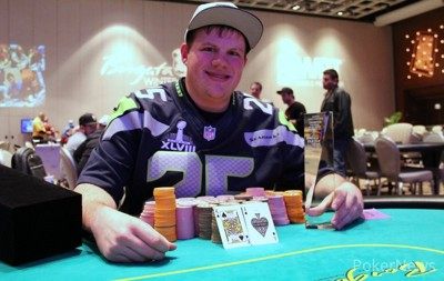 Matt Affleck Winner of Event 15 at the 2014 Borgata Winter Poker Open