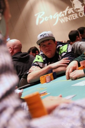 Matt Affleck's Side of the Table is Tilting Over as He Owns Nearly Every Chip in Play