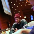 Caufman Talley at the Final Table of the Six-Max Event at the 2014 Borgata Winter Poker Open