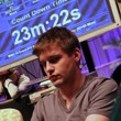 Byron Kaverman at the Final Table of the Six-Max Event at the 2014 Borgata Winter Poker Open