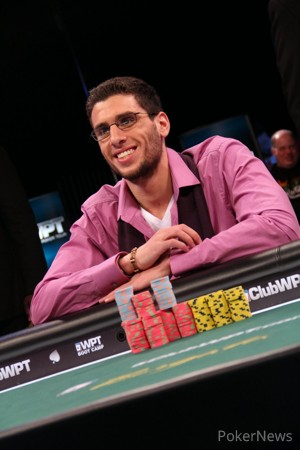 Anthony Maio at the Final Table of the 2014 WPT Borgata Winter Poker Open Championship