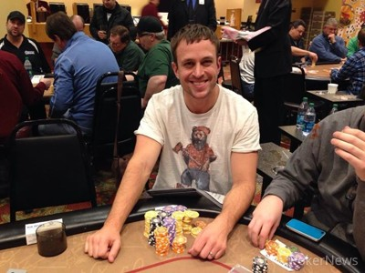 Dustin Dirksen topped the counts on Day 1a.
