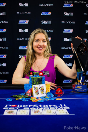Vicky Coren Mitchell - EPT Sanremo Main Event Winner 2014