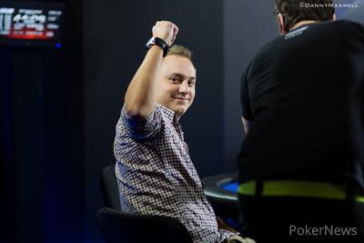 Jordan Westmorland gestures to his rail