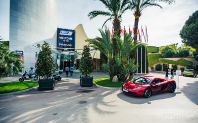 McLaren parked outside the Monte-Carlo® Casino