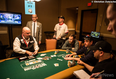 Mike Connors bubbles Event 1 of the 2014 WSOP