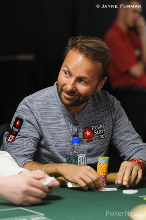 Daniel Negreanu busted out recently.