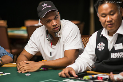 Phil Ivey, pictured in a different event.