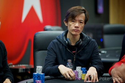 Day 1b Chip Leader, Peter Chan