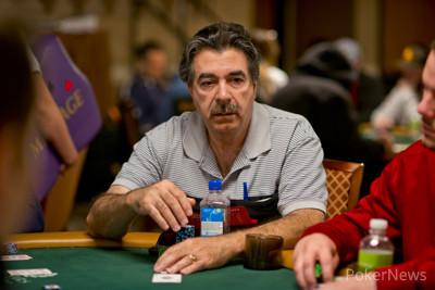 Don Zewin in earlier WSOP action.