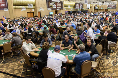 Players in the Pavilion Room for Event 8: Millionaire Maker
