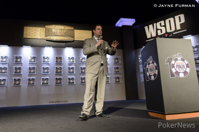 Jack Effel ruled that losing with a full house is indeed allowed in WSOP competition