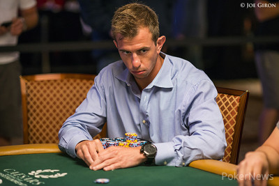 Shannon Shorr busted in third at his table.