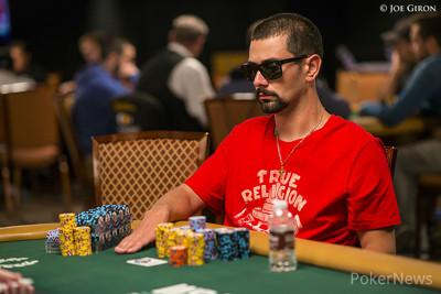Steven Geralis won his table.