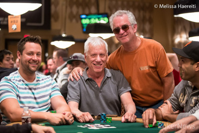 James Woods makes friends at every table he sits down at, but he also knows how to take his fans' chips along the way