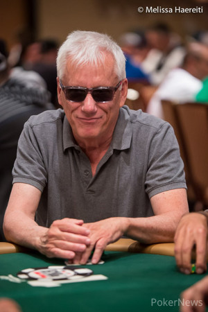 James Woods just hit the rail