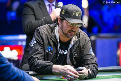 Phil Hellmuth (Razz final table) - Eliminated