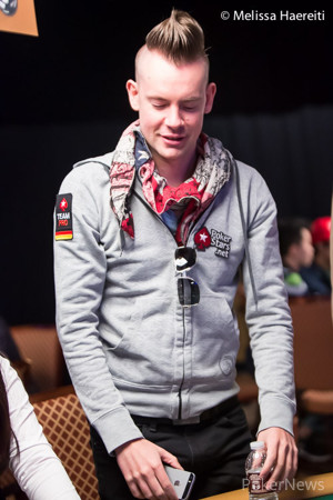 George Danzer won a pot that had his tablemates laughing.