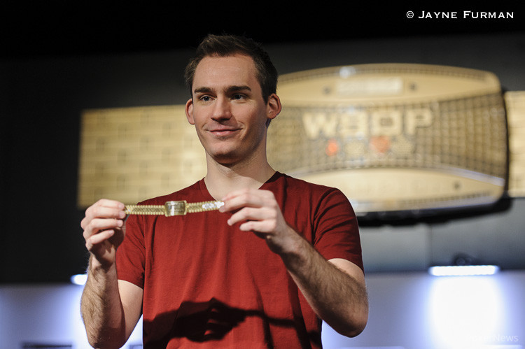 Justin Bonomo, winner of Event #11: $1,500 Six-Handed No-Limit Hold'em