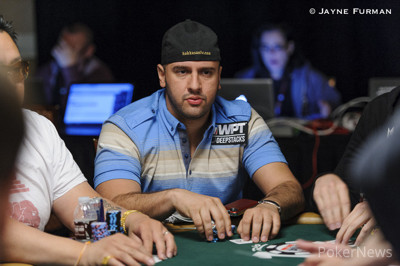 Michael Mizrachi busted early on Day 2.