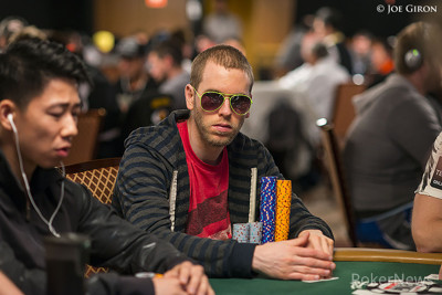 Jeff Madsen - Chip leader